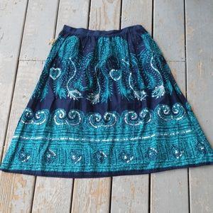 BILL BLASS boho style skirt